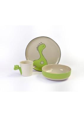 Dino 3'lü Porselen Set