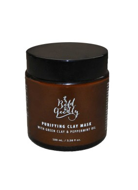 Purifying Clay Mask - Green Clay&Peppermint Oil
