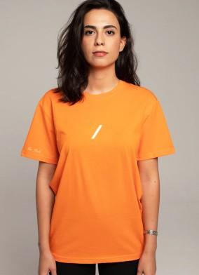 The Basic Collection Kadın - Tshirt Turuncu
