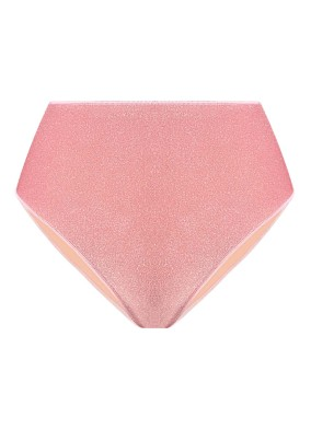 Peri Pembe Simli Bikini Altı