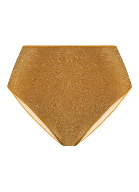 Peri Altın Simli Bikini Altı