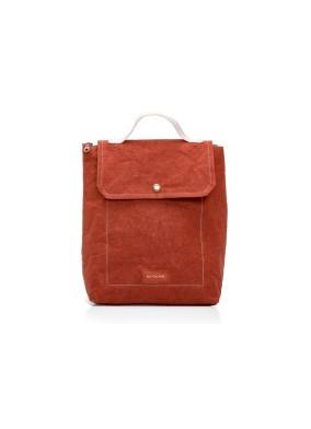 Mini Bag Brick Red