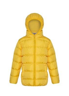 Orta Boy Sarı Şişme Mont