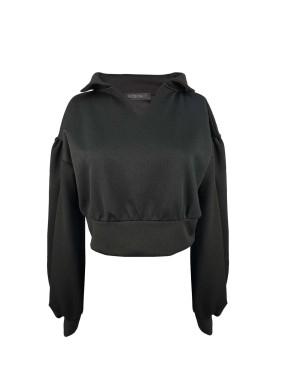 Siyah Tiny Sweatshirt