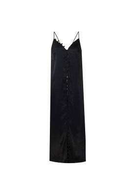 Sirius Siyah Uzun Elbise