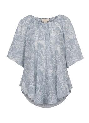 Mindy Etek Ucu Fırfırlı Plaj Elbisesi
