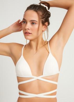 Jadis Bikini Üstü Beyaz