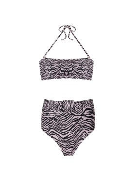 Linda Zebra Bikini Takımı