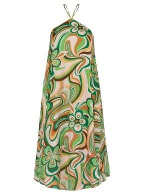 Bonita Girik Kol Midi Elbise