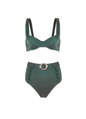 Carmen Yeşil Bikini Takımı