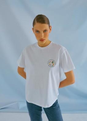 Ocean Organik Pamuklu Tshirt