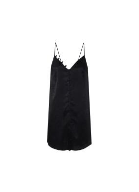 Biham Siyah Kısa Elbise