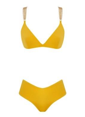 Sunflower Sarı Bikini Zincirli