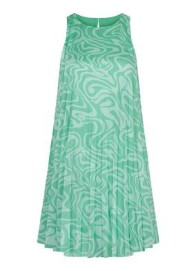 Ivy Pileli Mini Elbise