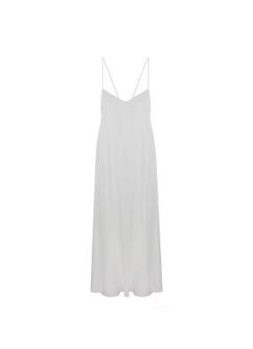 Betelgeuse Beyaz Uzun Elbise