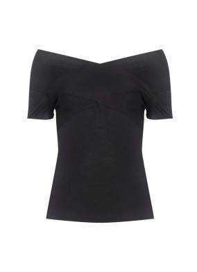 Abies Kayık Yaka T-shirt