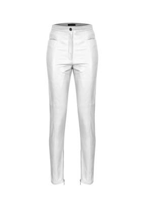 Balsamina Beyaz Cep Detaylı Parçalı Pantolon