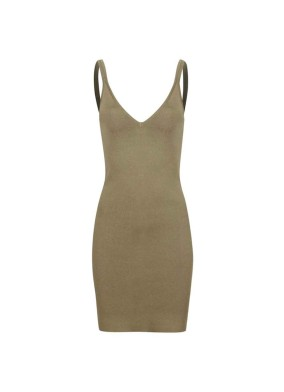 Ferulus Askılı Mini Triko Elbise