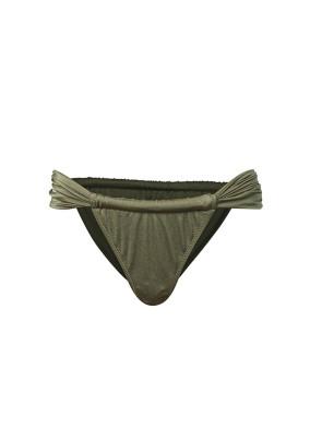 Saliens Yeşil Büzgülü Bikini Altı