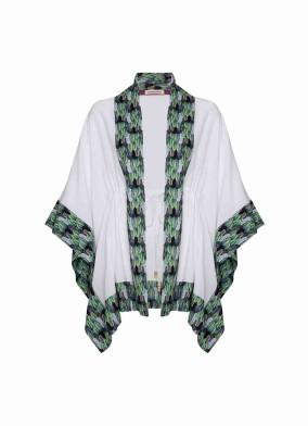Summer Queen Kimono - Leaves