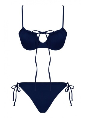 Tammy Econyl Lacivert Bikini