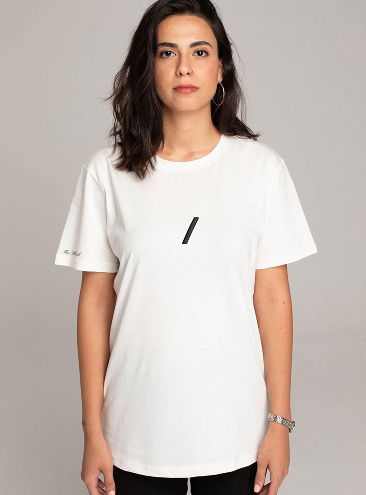 The Basic Collection Kadın - Tshirt Beyaz