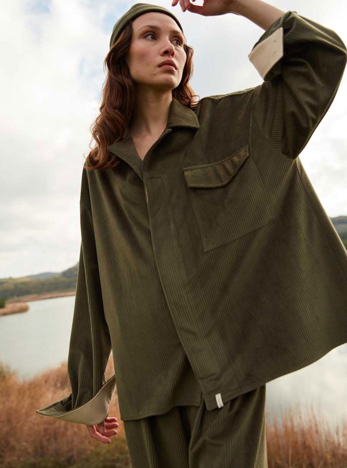 Yew Oversize Gömlek