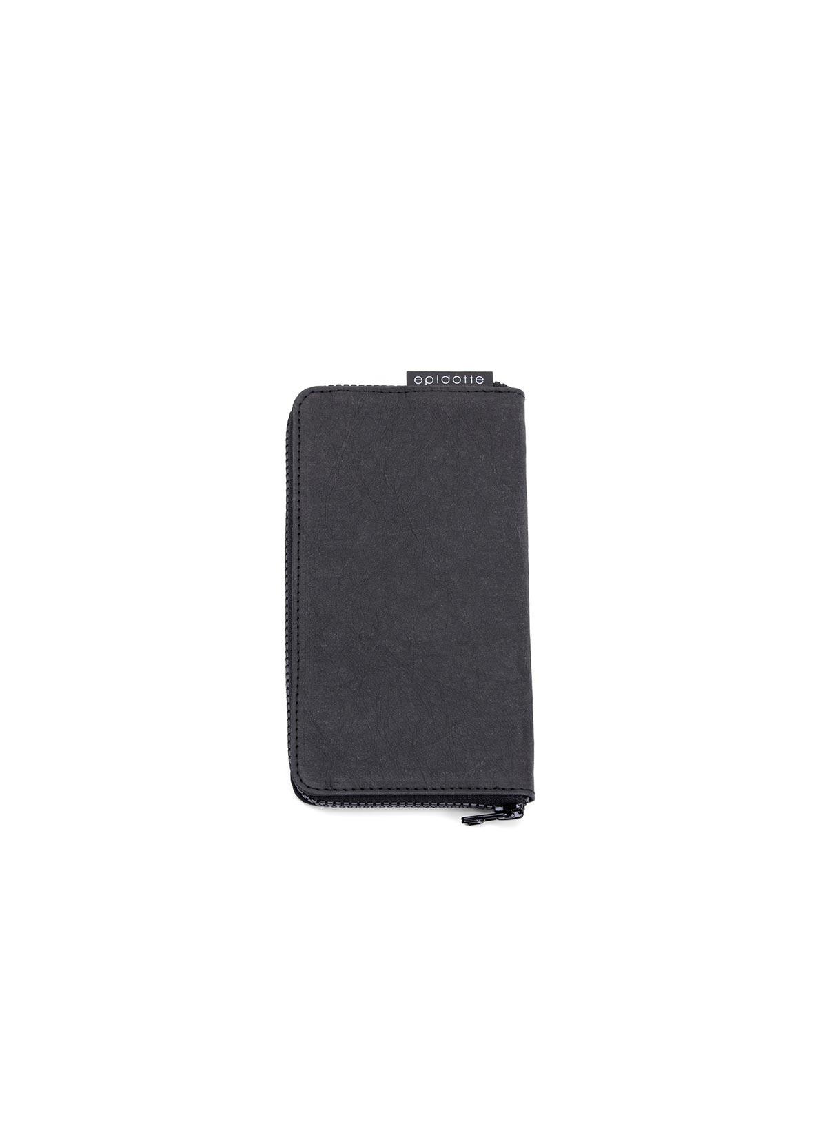 Zipped Wallet Black