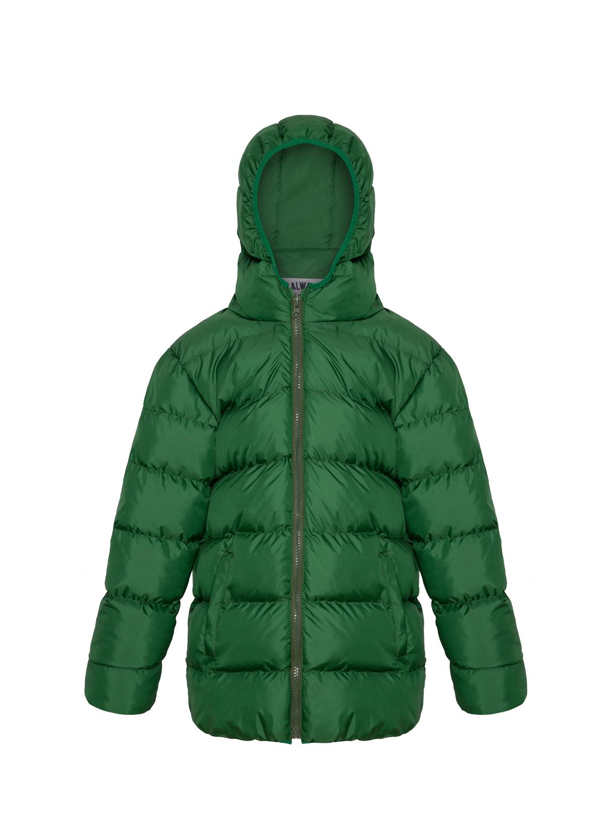 Orta Boy Yeşil Şişme Mont