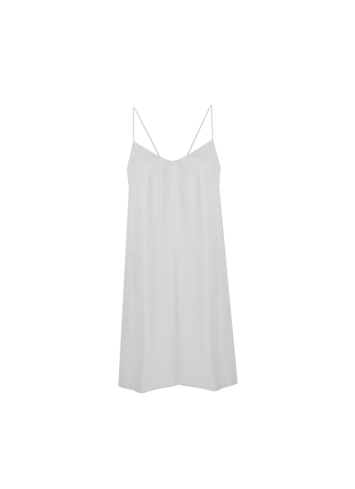 Betelgeuse Beyaz Mini Elbise