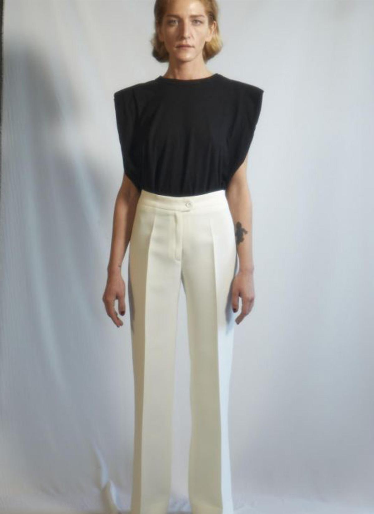 Twiggy Beyaz Pantolon