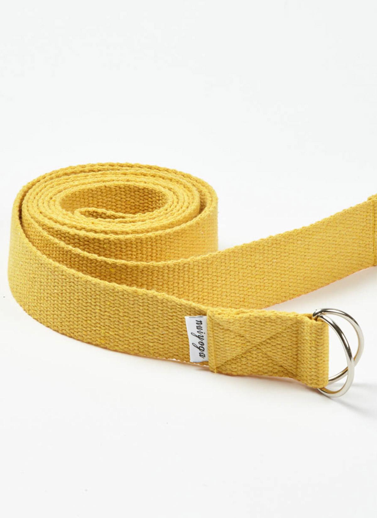 Sarı Yoga Kemeri Kayışı