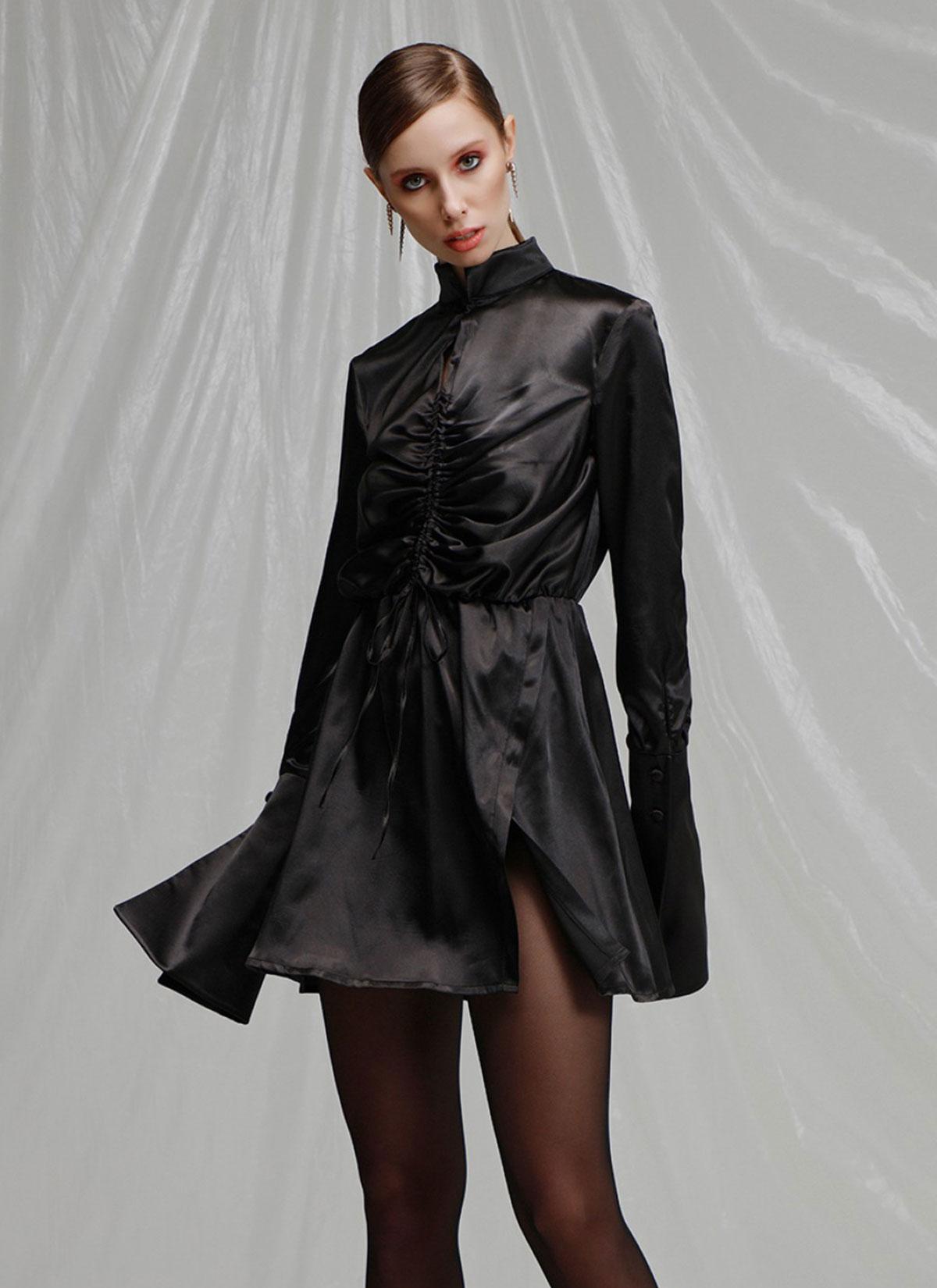 Luci Siyah Elbise