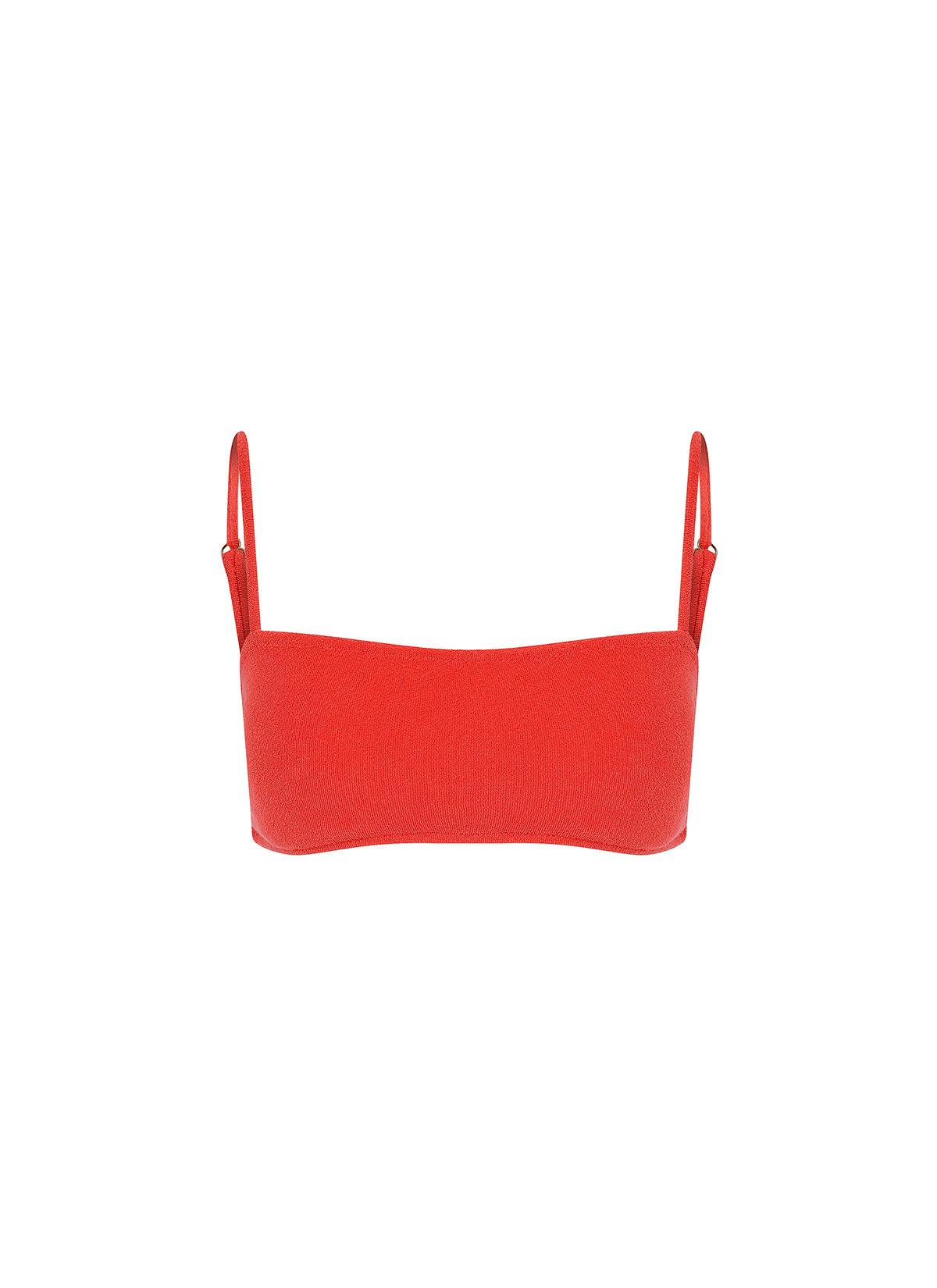 Mileva Bikini Üstü Kırmızı