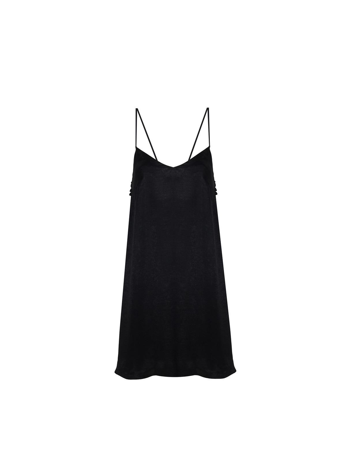 Betelgeuse Siyah Mini Elbise