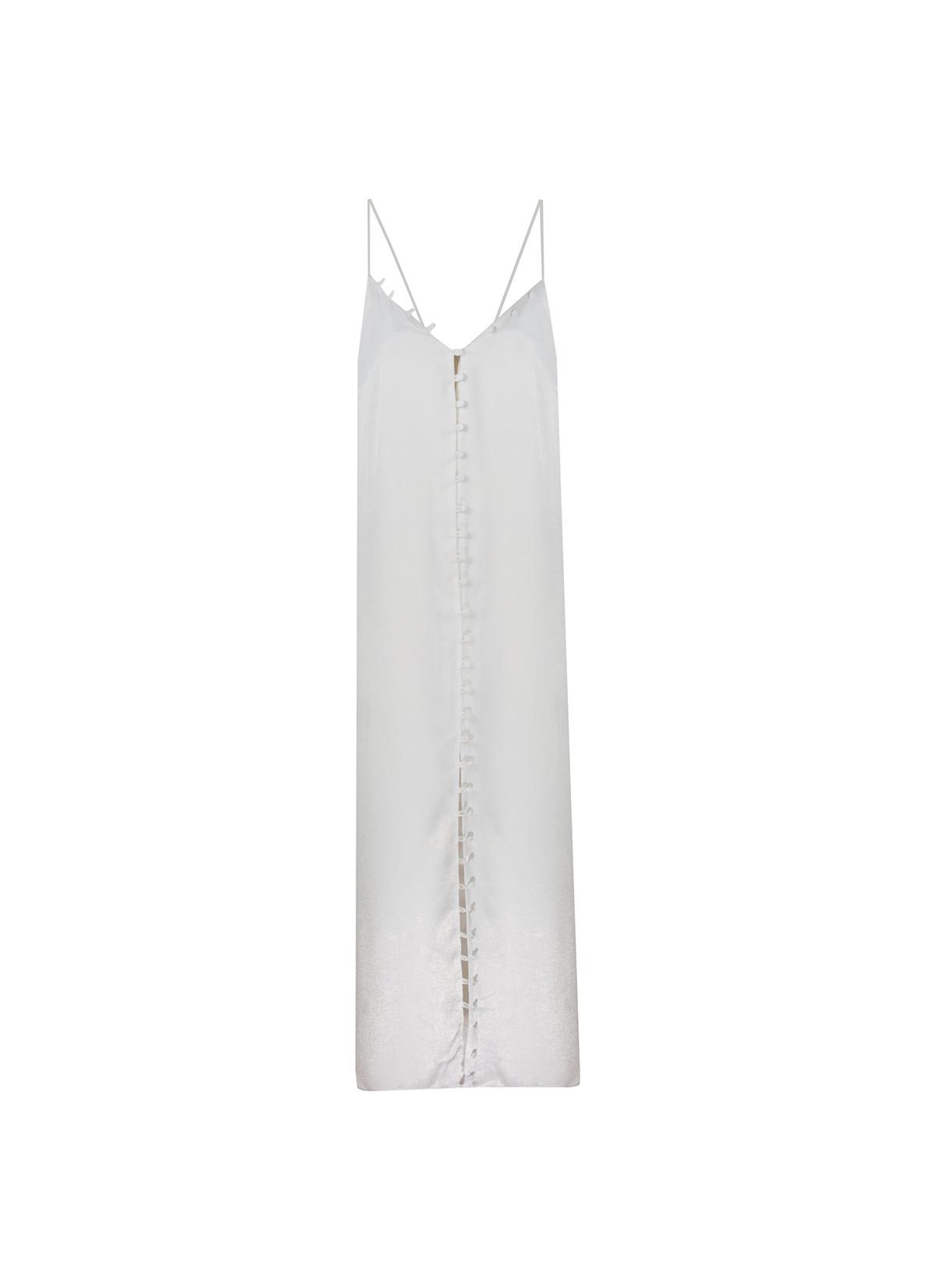 Sirius Beyaz Uzun Elbise