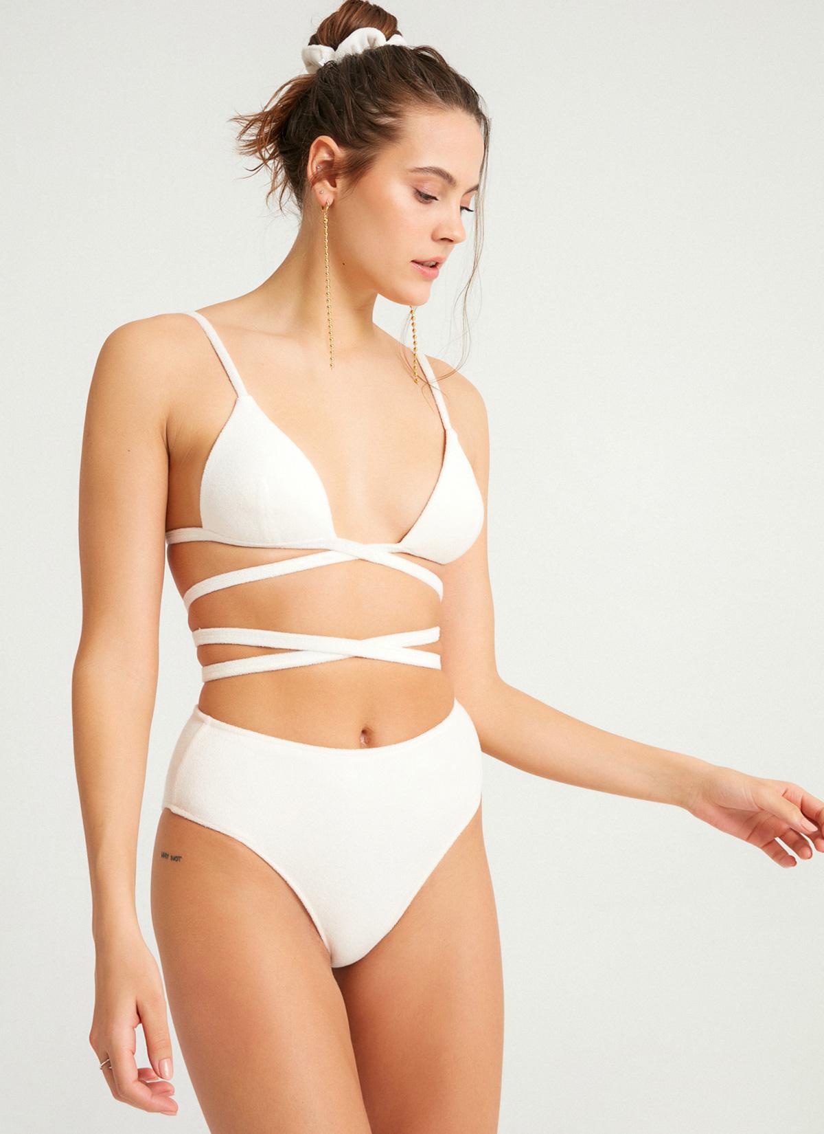 Atlas Bikini Altı Beyaz