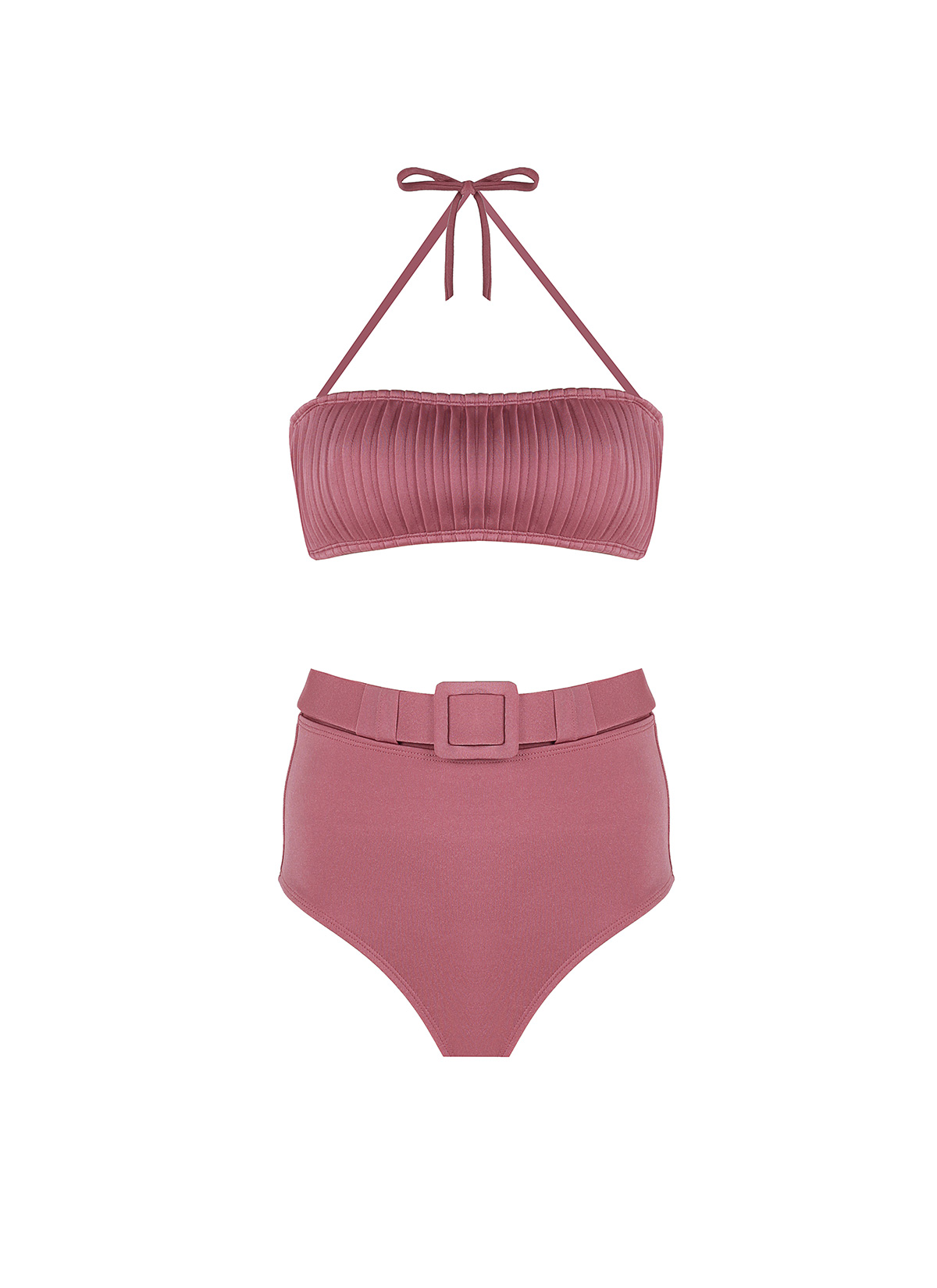 Linda Pembe Bikini Takımı
