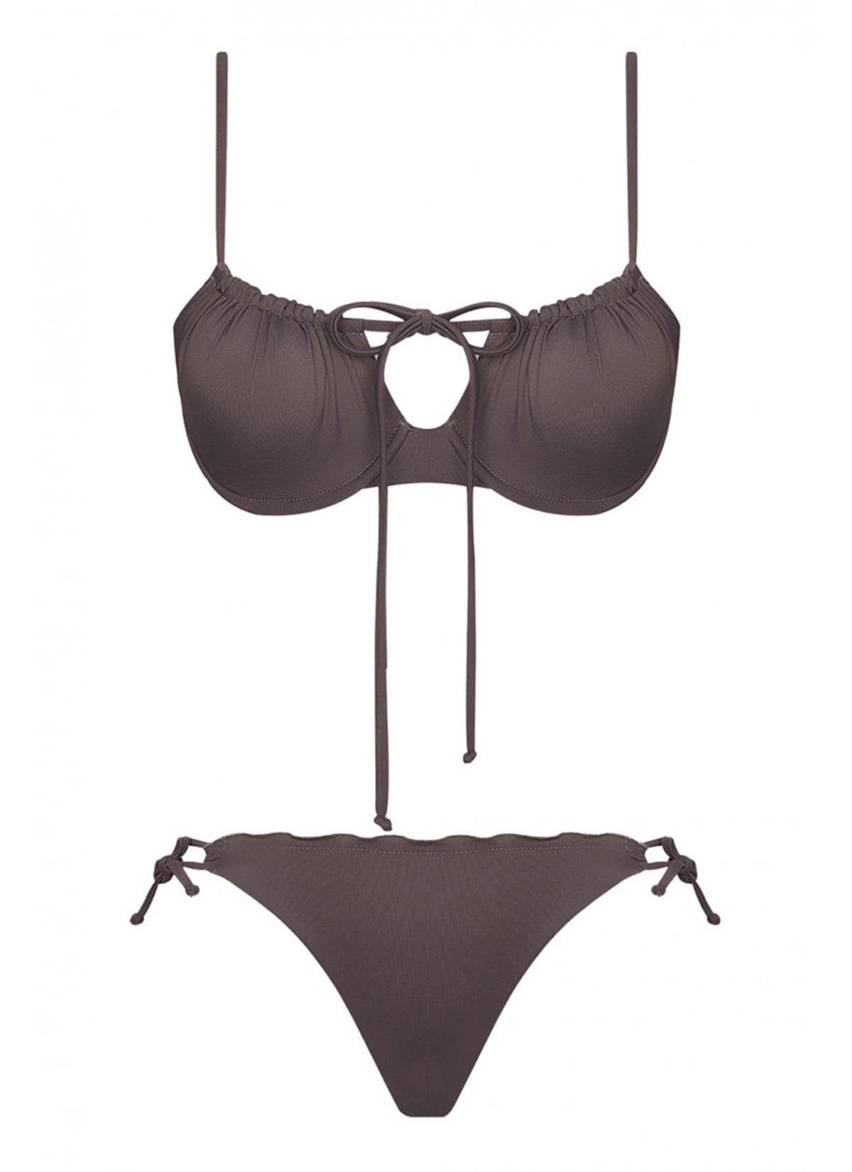 Tammy Econyl Gri Bikini